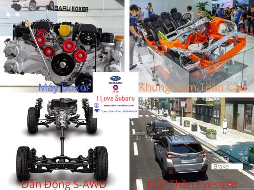 Công nghệ cốt lõi Subaru